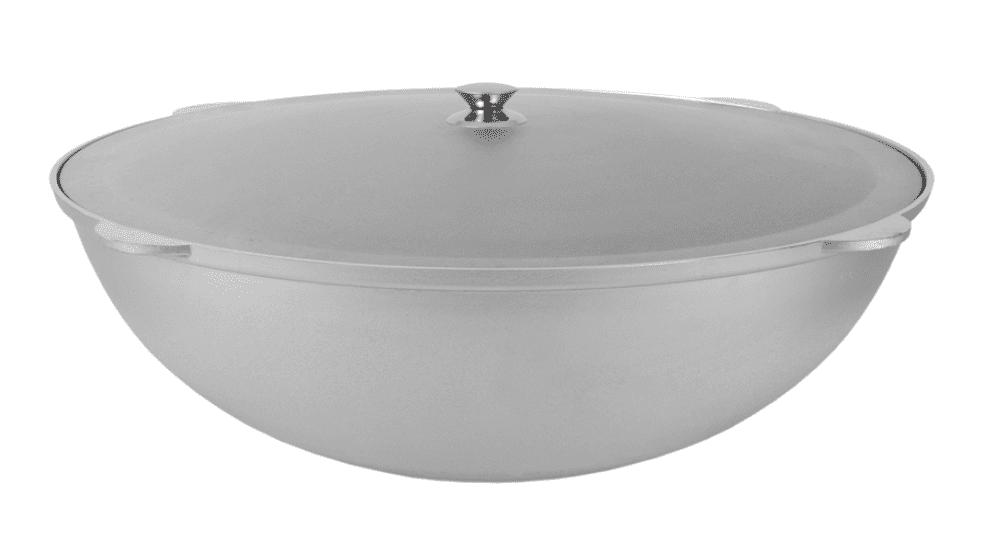 Алюминиевый казан 28 литров с крышкой, Kukmara, без покрытия, к281 - фото 10427