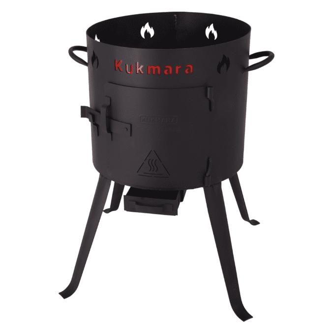 Печь (учаг) под казан 18-25 литров Kukmara, d-452 мм.