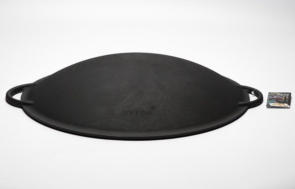 Садж-сковорода, крышка, чугун 400 мм. Ситон