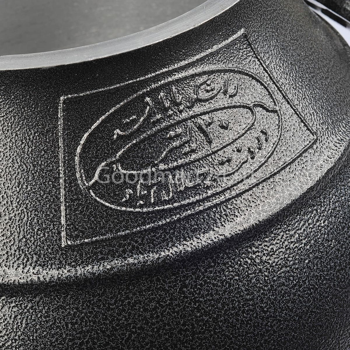 Афганский казан Rashko Baba LTD 8 литров алюминиевый чёрный