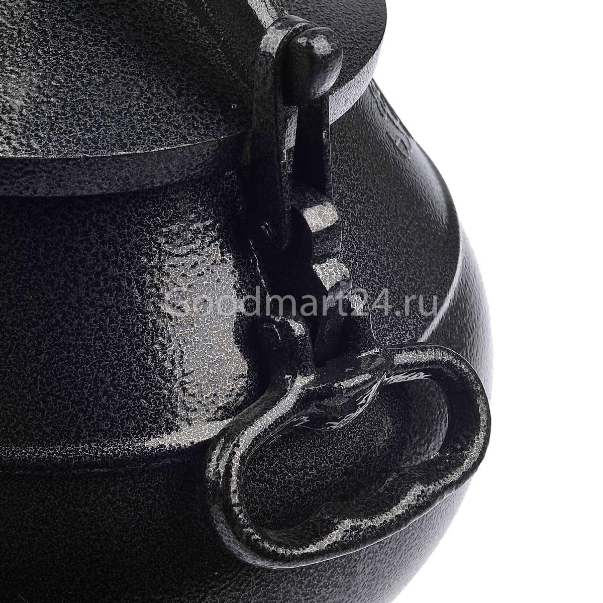 Заказать Афганский казан Rashko Baba LTD 8 литров алюминиевый чёрный