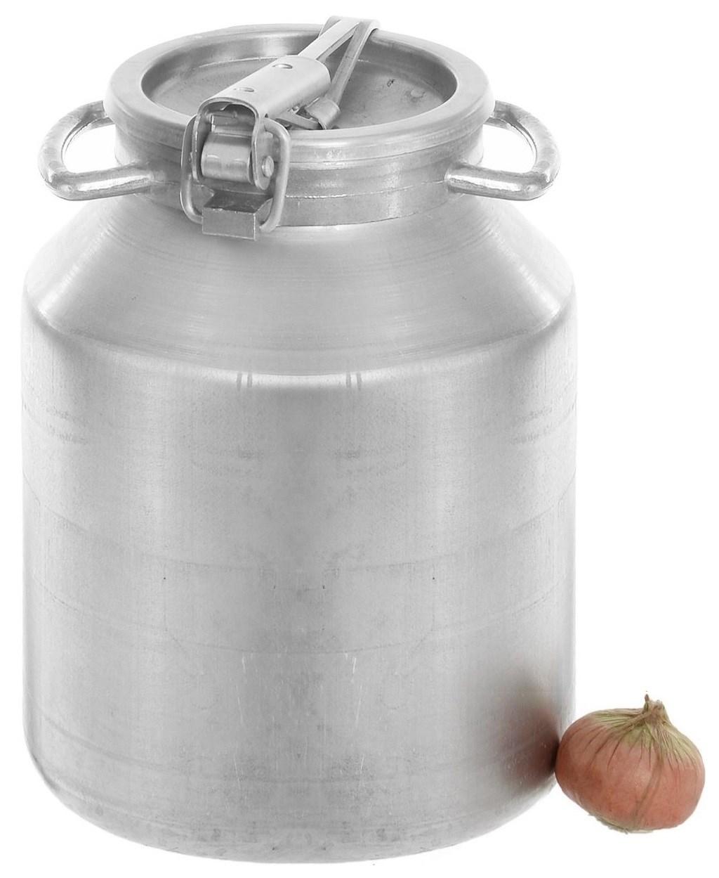 Алюминиевая фляга-бидон на 18 литров Калитва