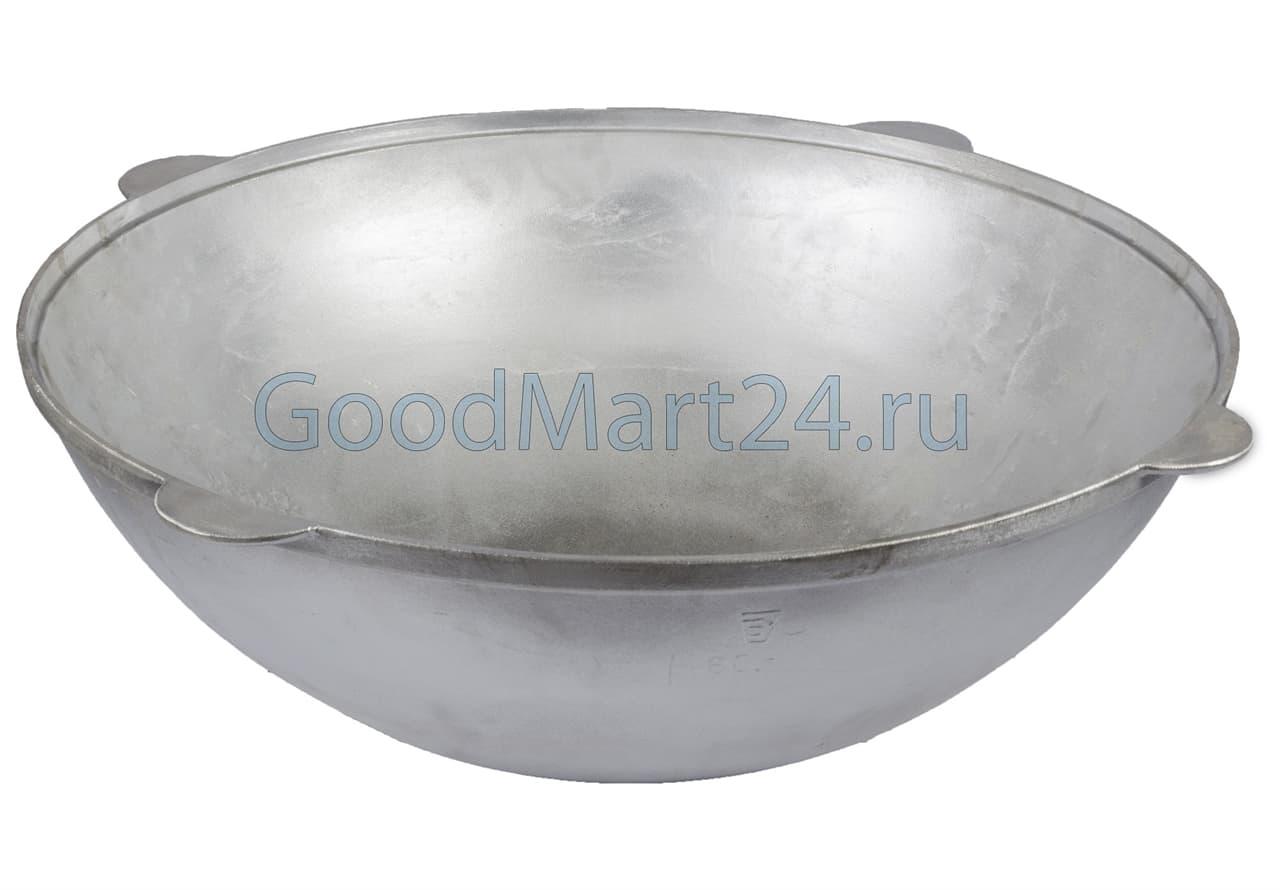 Алюминиевый казан 40 литров БЛМЗ фото