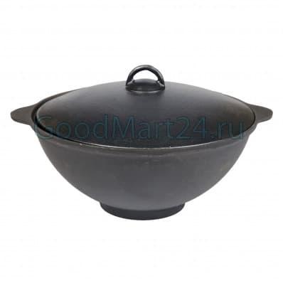 цена на чугунный казан 8 литров БЛМЗ и печь с трубой