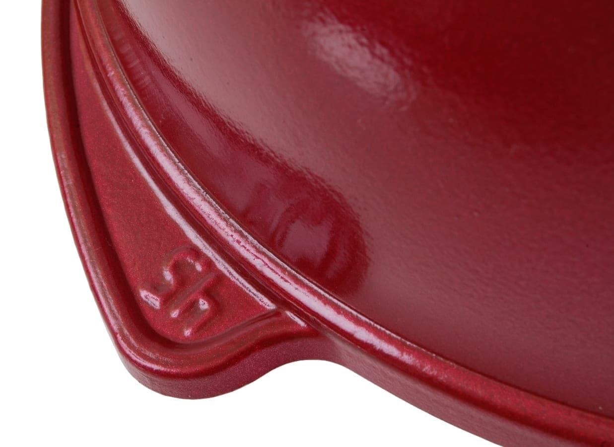 Казан с керамическим покрытием 4,5 л. стеклянная крышка Kukmara
