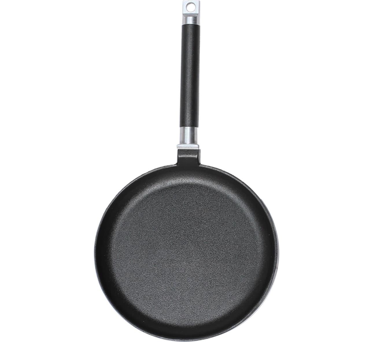 Сковорода блинная 240х20 мм. ровный борт дер.ручка БИОЛ арт.04241