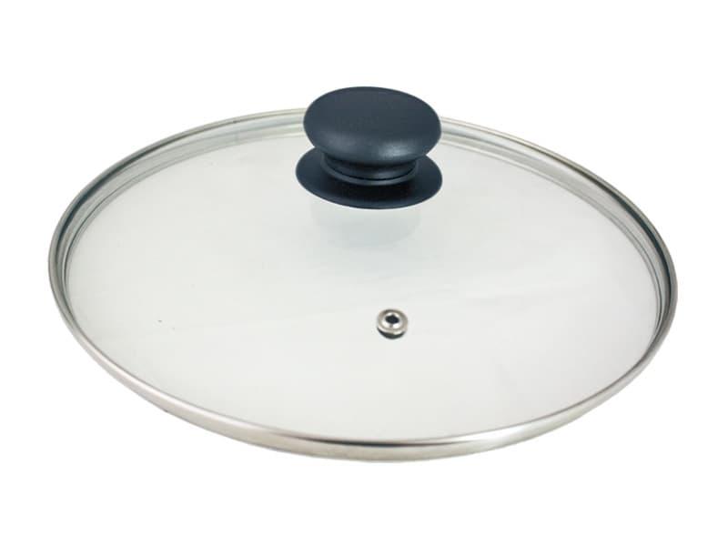 Крышка стеклянная пароотводная 220 мм. Tima