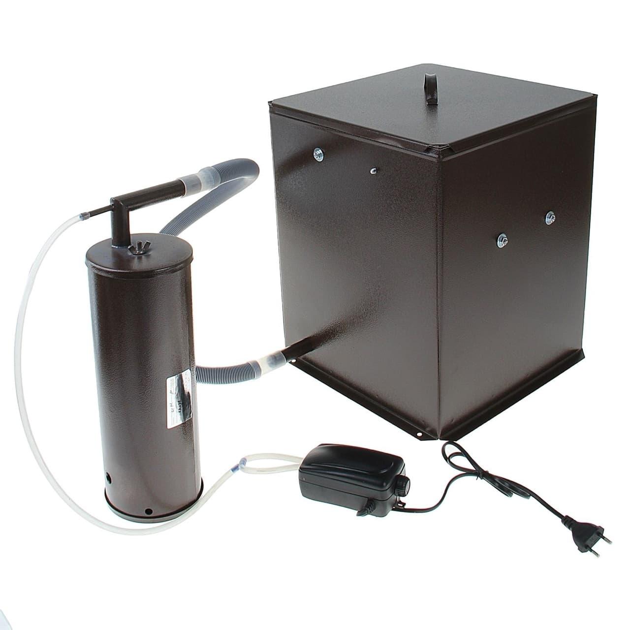 Коптильня Дым Дымыч 01М холодного копчения с емкостью 32 л. УЗБИ