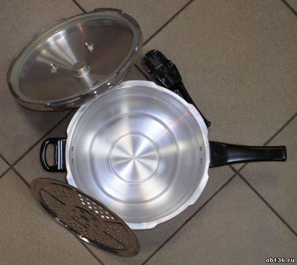 Скороварка Чудо-55 Д, алюминий с окс. покрытием 5,5 л. УЗБИ - фото 5442