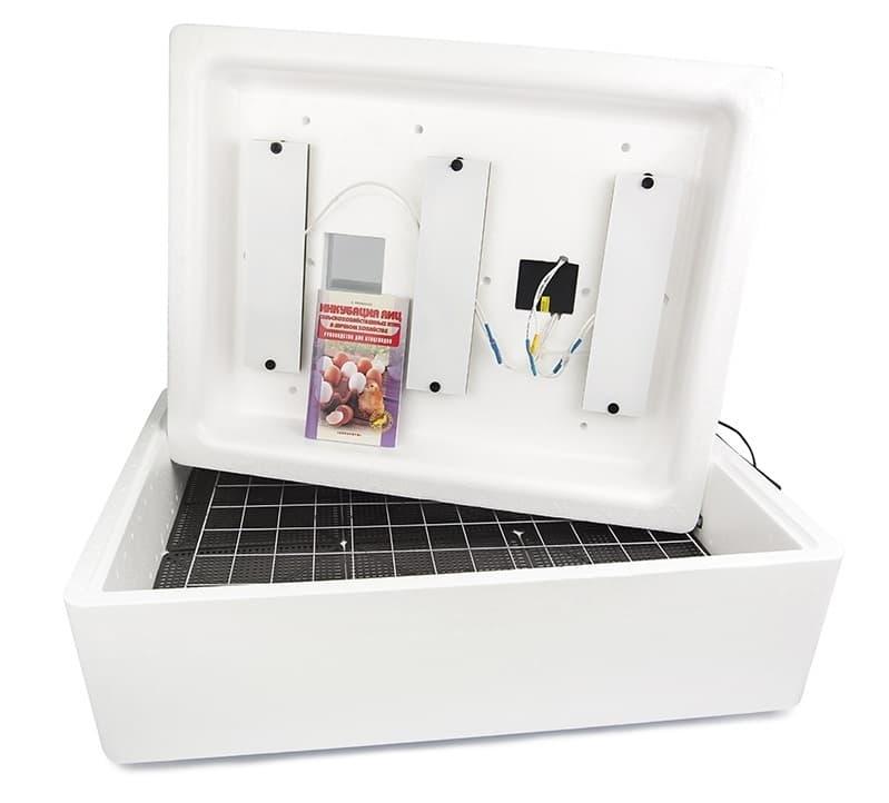 Инкубатор несушка 104 яйца 220/12 В с гигрометром Фото