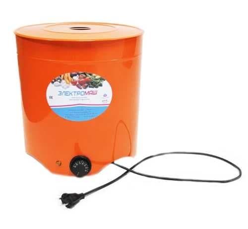 Электросушилка металлическая для овощей и фруктов 4 лотка Электромаш