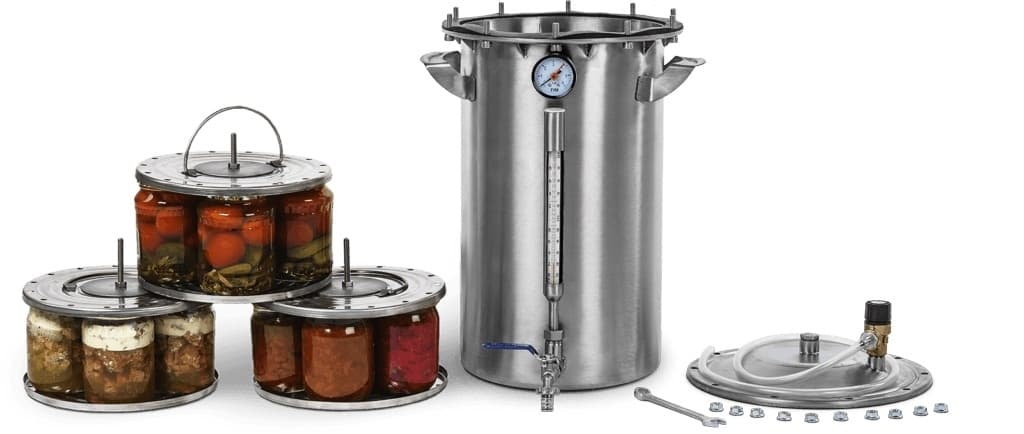 Автоклав для консервирования ДЫМКА 2.0 - для всех плит
