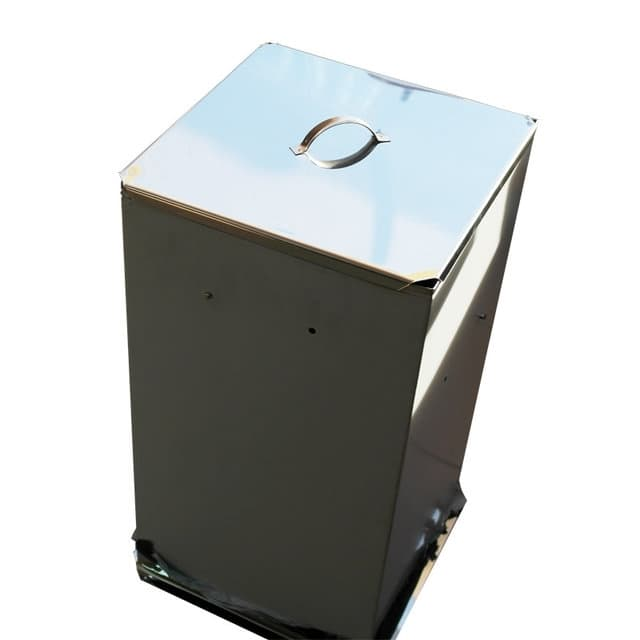 Коптильня Дым Дымыч 02Б холодное копчение из нерж. стали с емкостью 50 л. УЗБИ