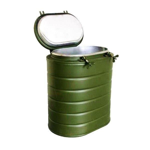 термос армейский 12 литров с колбой из нержавейки
