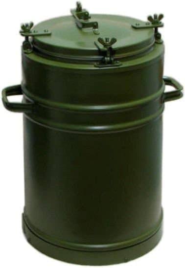 армейский термос 36 литров с колбой из нержавеющей стали