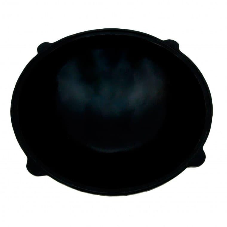 Узбекский чугунный казан круглое дно 22 л заказать