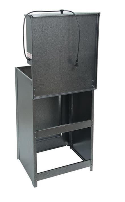 Умывальник дачный с подогревом (1,25 кВт), мойка нерж, 17 л. Акватекс, антик-серебро - фото 6331