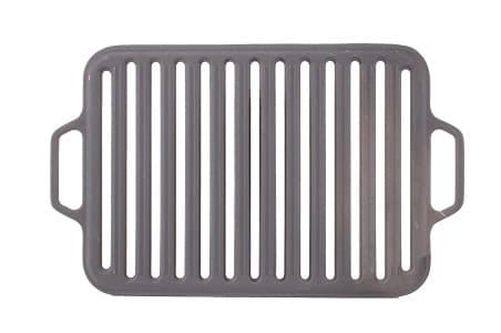 Решетка чугунная гриль для мангала 360х260х11 мм (Ситон) арт. РГ3626