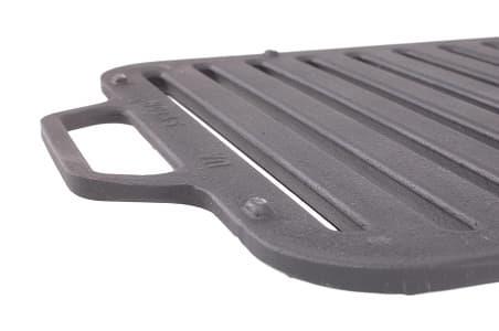 Решетка чугунная гриль для мангала 360х260х11 мм (Ситон) арт. РГ3626 фото