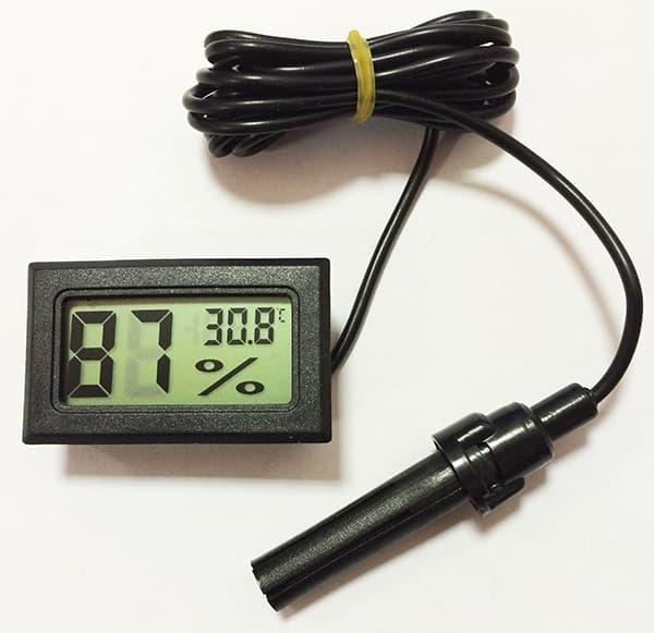 Гигрометр/термометр цифровой ТГМ-1 фото