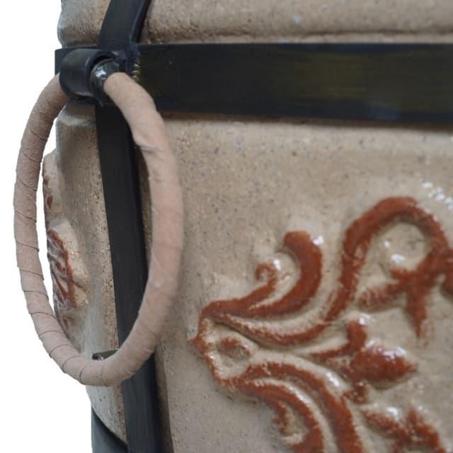 Тандыр Гранд с подставкой под крышку, слоновая кость, Эко