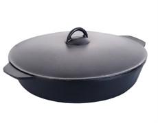 Сковорода чугунная 340х35 мм