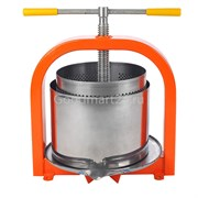Пресс Лан 25 литров для отжима сока, винтовой с кожухом, нерж.сталь
