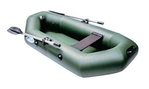 Фото лодки Rush 230 зелёной