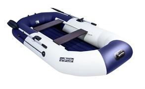 "Лодка NX 270 НД ""Комби"" светло-серый/синий фото"