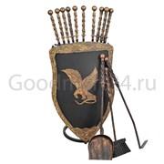 Кованный щит набор шампуров фото