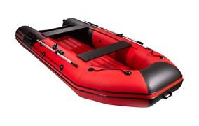 Моторно-гребная НДНД лодка Таймень NX 3600 PRO красный/черный для активного отдыха фото