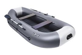 Графит/светло-серый НД ПВХ Лодка Таймень LX 290