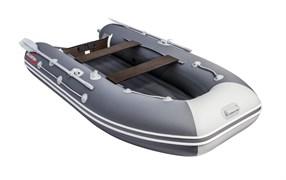 ПВХ Лодка Таймень LX 3200 НДНД Графит/светло-серый фото
