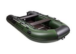 """Фото Лодки Ривьера 3400 СК """"Комби"""" зеленый/черный"""