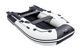 """Фото лодки ривьера компакт 2900 НДНД """"Комби"""" светло-серый/черный"""