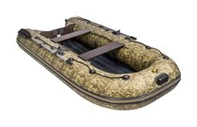 """ПВХ лодка ривьера компакт 3200 НДНД """"камуфляж"""" камыш фото"""