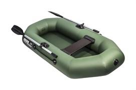 Лодка пвх Аква-оптима 210 зеленая фото