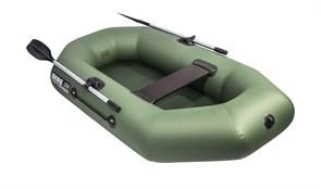 Лодка ПВХ Аква-оптима 220 зеленая фото
