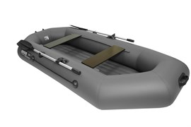 Лодка ПВХ Аква-мастер 280 НД графит фото