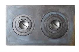 Плита чугунная под казан двухконфорочная,П2-3 710х410 мм. Балезинский ЛМЗ купить