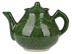 Чайник заварочный Риштанская Керамика 2 л. зеленый купить
