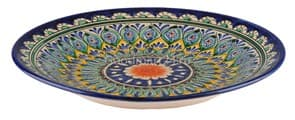 Тарелка плоская Риштанская Керамика цена