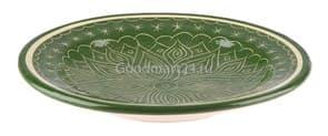 Тарелка плоская Риштанская Керамика купить