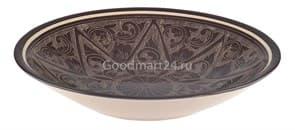 Тарелка плоская Риштанская Керамика