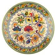 Ляган Риштанская Керамика 38 см. плоский, Турецкий
